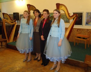 Concert with students in Budapest 2012