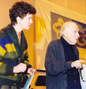 with Menuhin in Marl Januar 1999